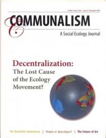 Communalism #1 - A Social Ecology Journal