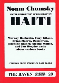 The Raven # 28 - Chomsky on the restoration of democracy in Haiti