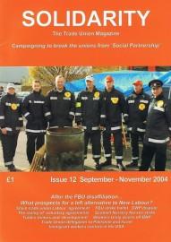 Solidarity - Issue 11 (September-November 2004)