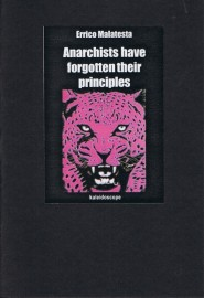 Anarchists Have Forgotten Their Principles