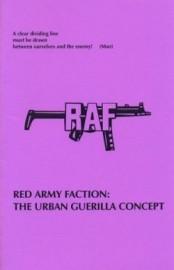 RAF: The Urban Guerilla Concept