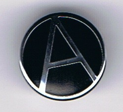 Anarchy is Order (circled 'A') Badge