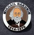 Mikhail Bakunin badge