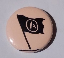 Anarchist Flag Badge