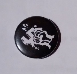 Smash Fascism (small button badge)